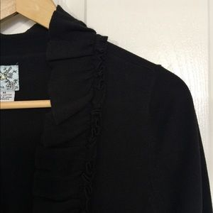 Anthropologie Black Cardigan